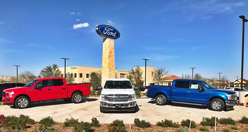 Sewell Ford Odessa >> AUTOMOTIVE - Epperson Company | Dealerships | Collision Centers | Rollout